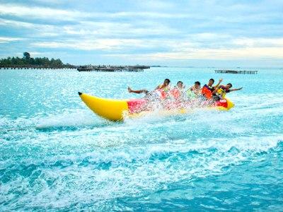 Banana Boat liburan wisata ke pulau tidung