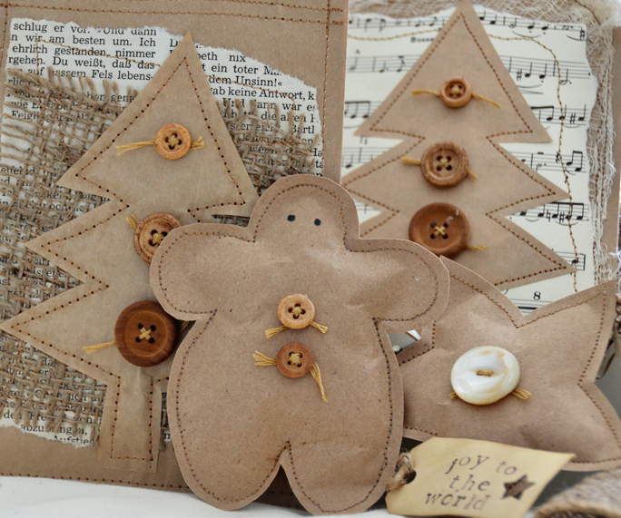 Her creative spirit christmas gift bag tutorial for Paper christmas gifts