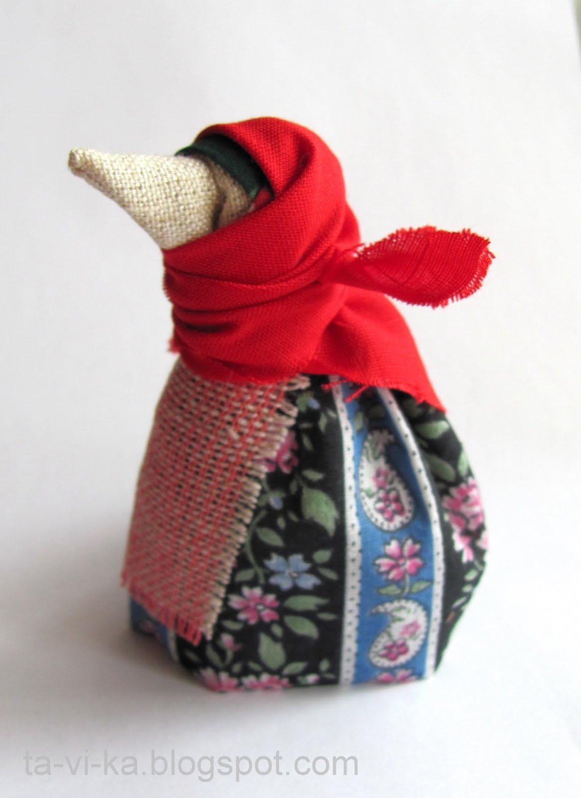 Кукла из платка своими руками мастер класс 17
