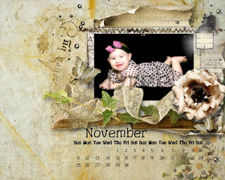 Freebie November 2012 Desktop Calendar