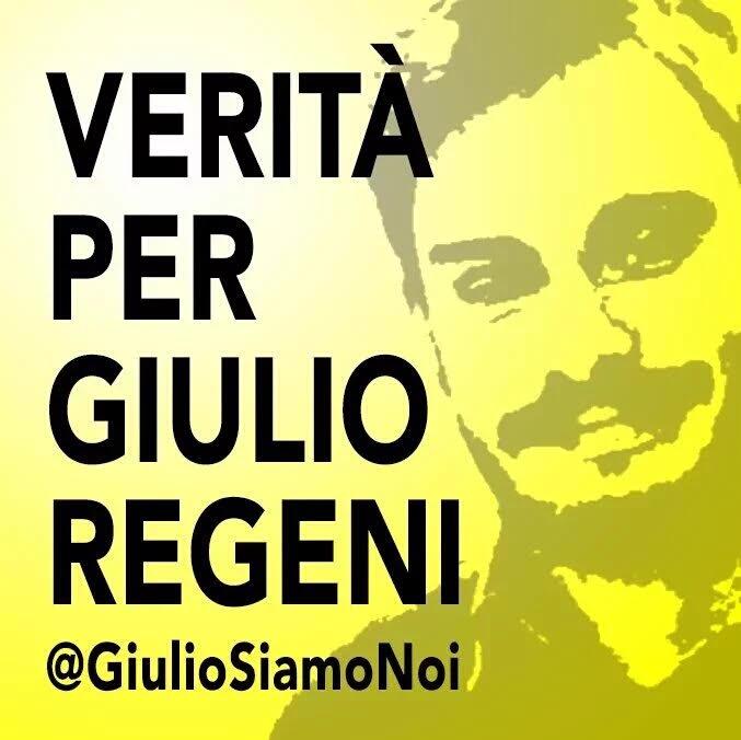 Verità per Giulio Reggeni