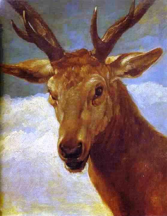 Mi pinacoteca s xvii barroco diego vel zquez for Cabeza de ciervo