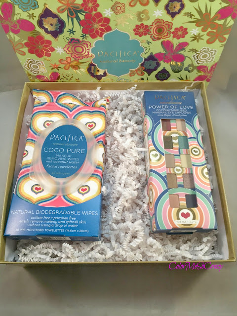 Pacifica Power of Love Palette and Coconut Wipes Review and GIVEAWAY!!