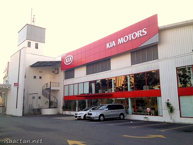 Servicing my car at the Kia Service Centre @ Setapak