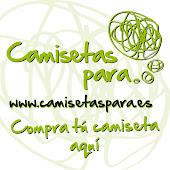 """PATROCINADOR """"CAMISETAS PARA"""""""