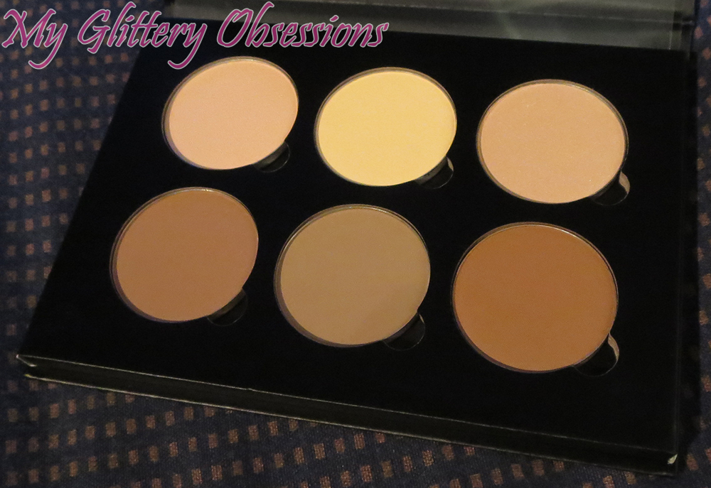 Untouched contour kit powders