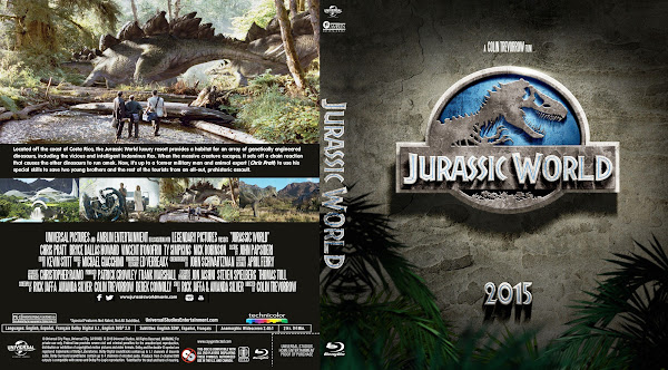 Capa Bluray Jurassic World