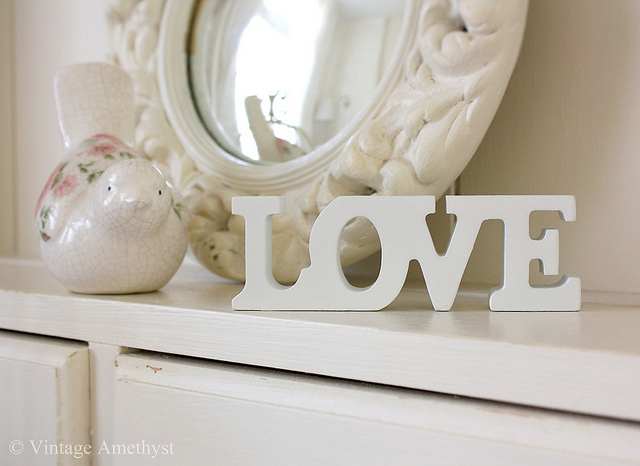 Mi baul vintage chic ideas para decorar va de letras - Vintage and chic love ...