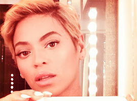 BEYONCE'S NEW HAIRCUT