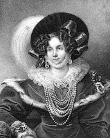 Frederica, Duchess of Cumberland  from La Belle Assemblée (1830)