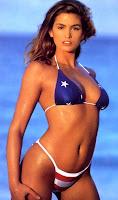 sexy cindy crawford USA bikini