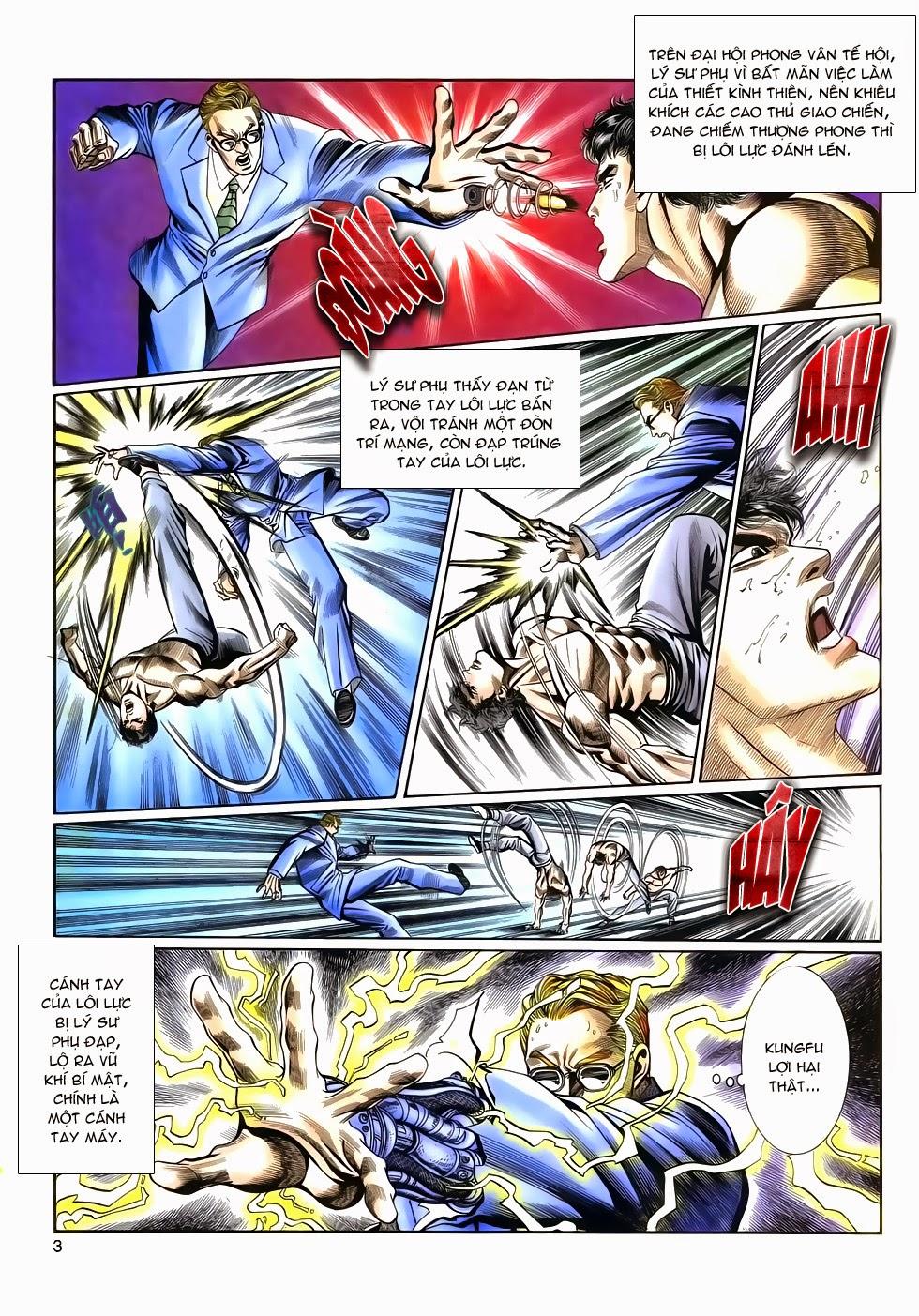 Long Hổ Phong Bạo chap 9 - Trang 3