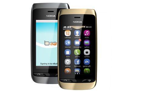 Nuovo smartphone S40 dual sim della serie Asha da Nokia