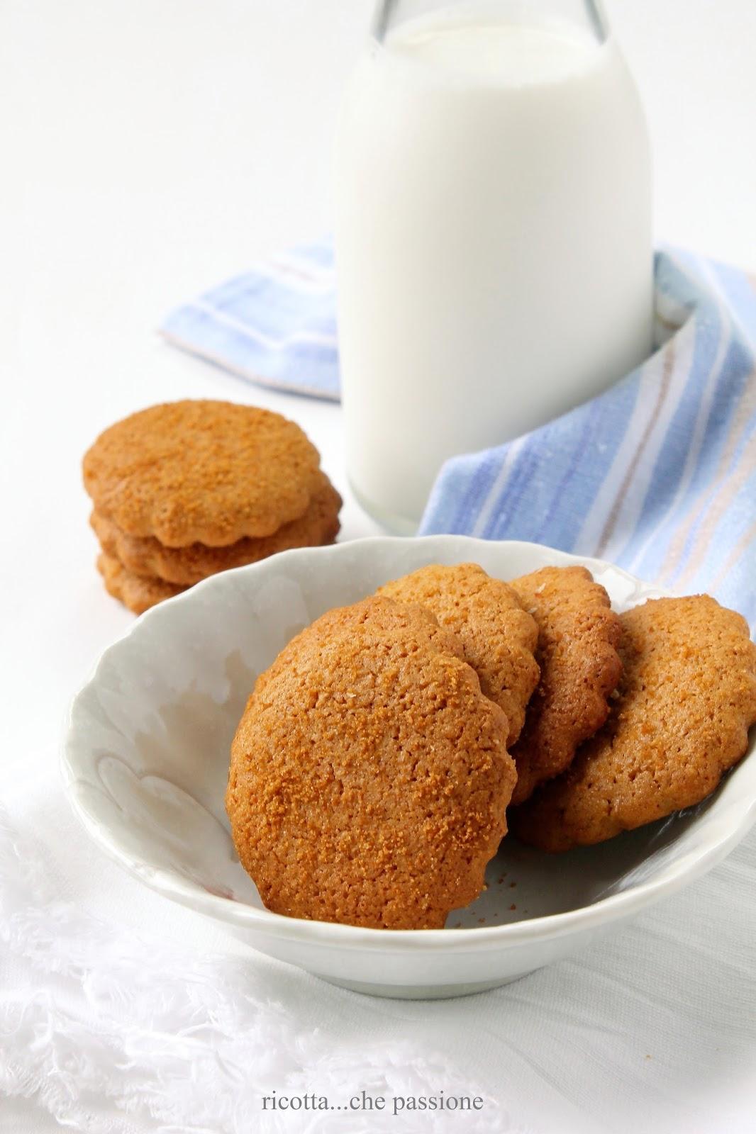 nei biscotti lo zucchero può fare la differenza