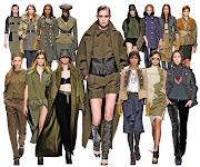Tendencias Otoño-Invierno 2012-2013: Militar moda otonìƒo invierno