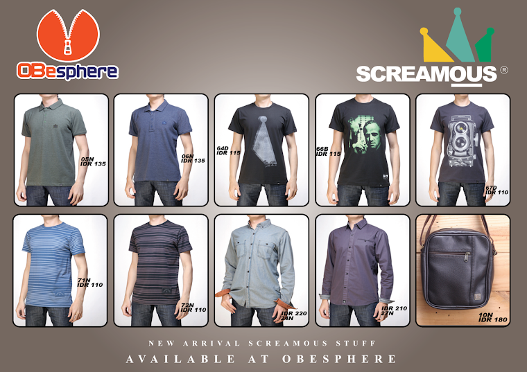 UPDATE SCREAMOUS STUFF MARCH 2013