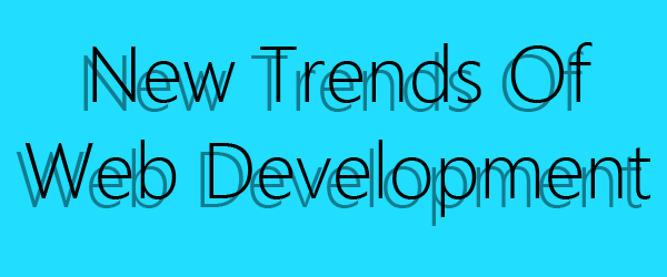3 new trends among the web developers in 2014