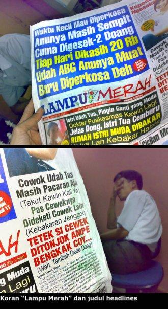 Isi Koran Indonesia Bener-bener Aneh Banget !!!