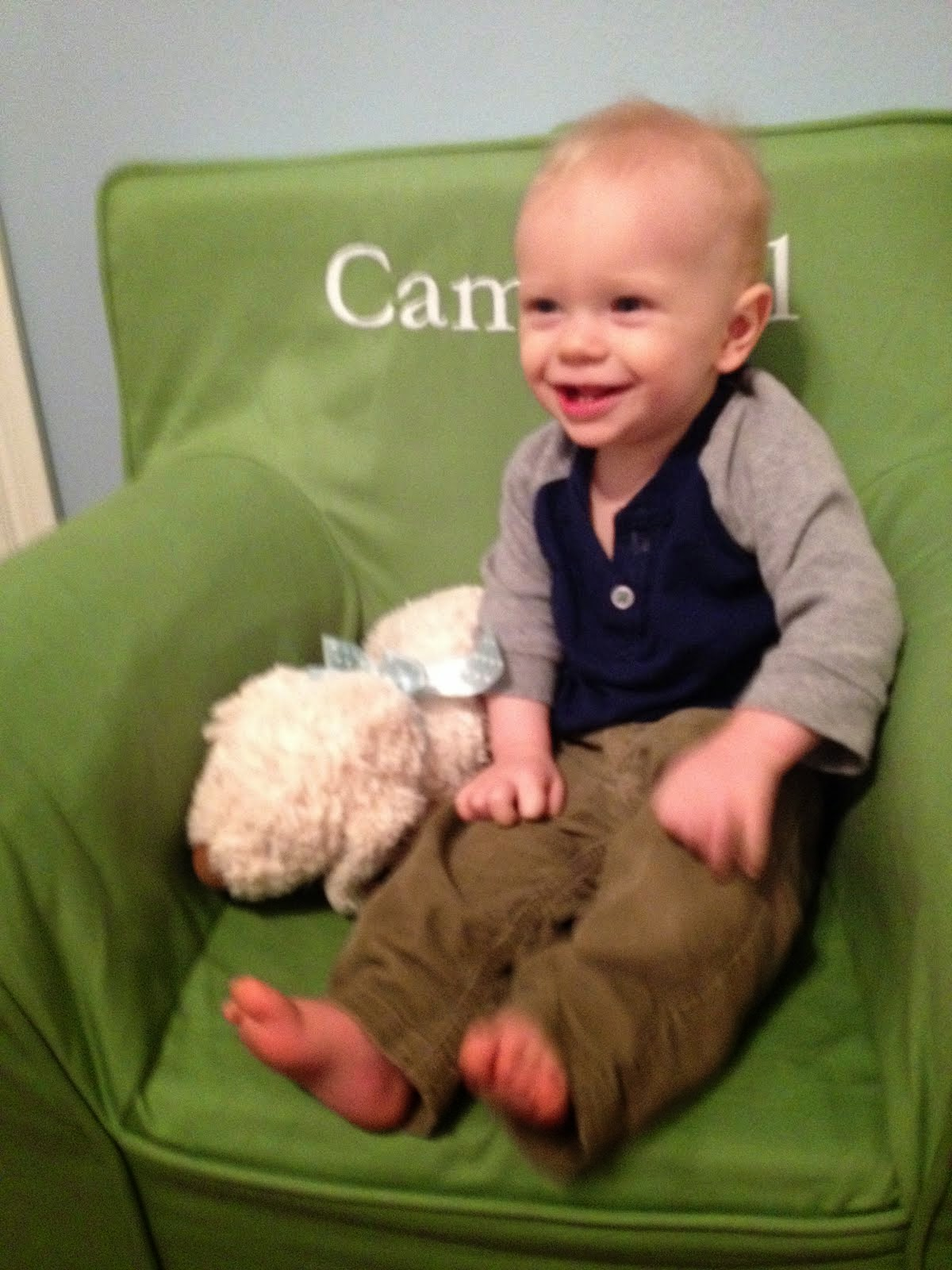 Campbell at 9 months