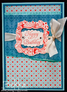 Elementary Elegance Birthday Card
