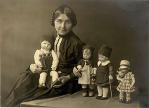 Khate Kruse en haar poppenkinderen