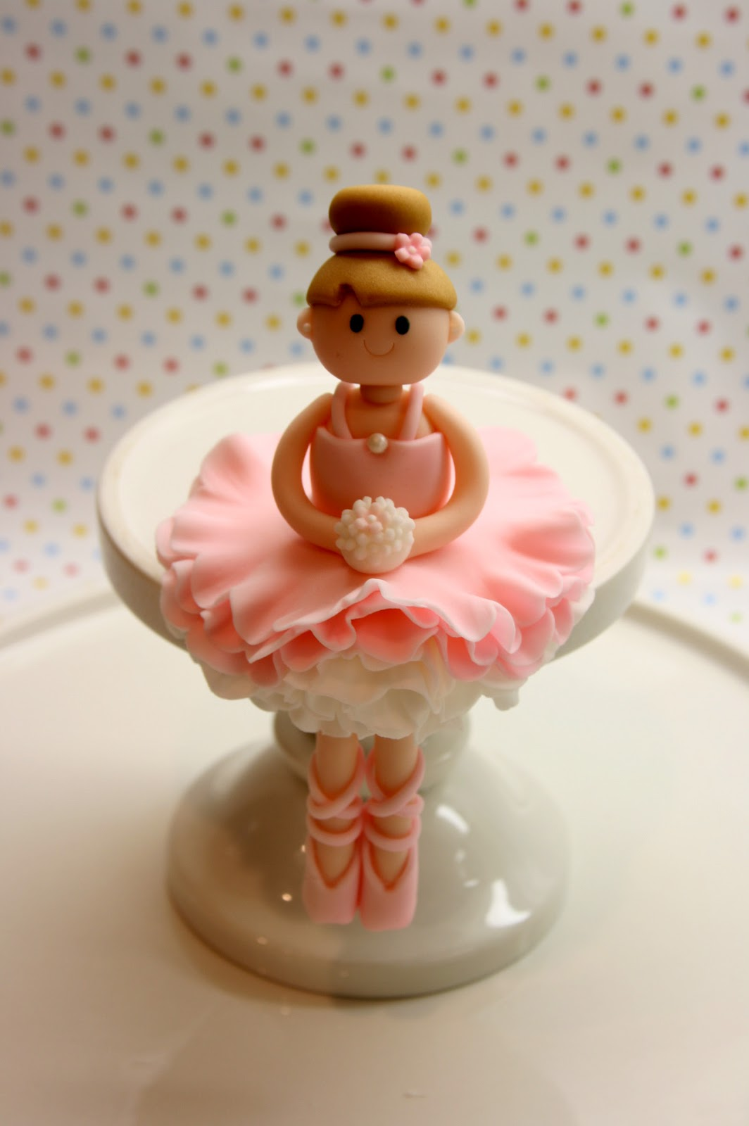 Cake Toppers Cake : Beautiful Kitchen: Ballerina Cake Topper for Allison