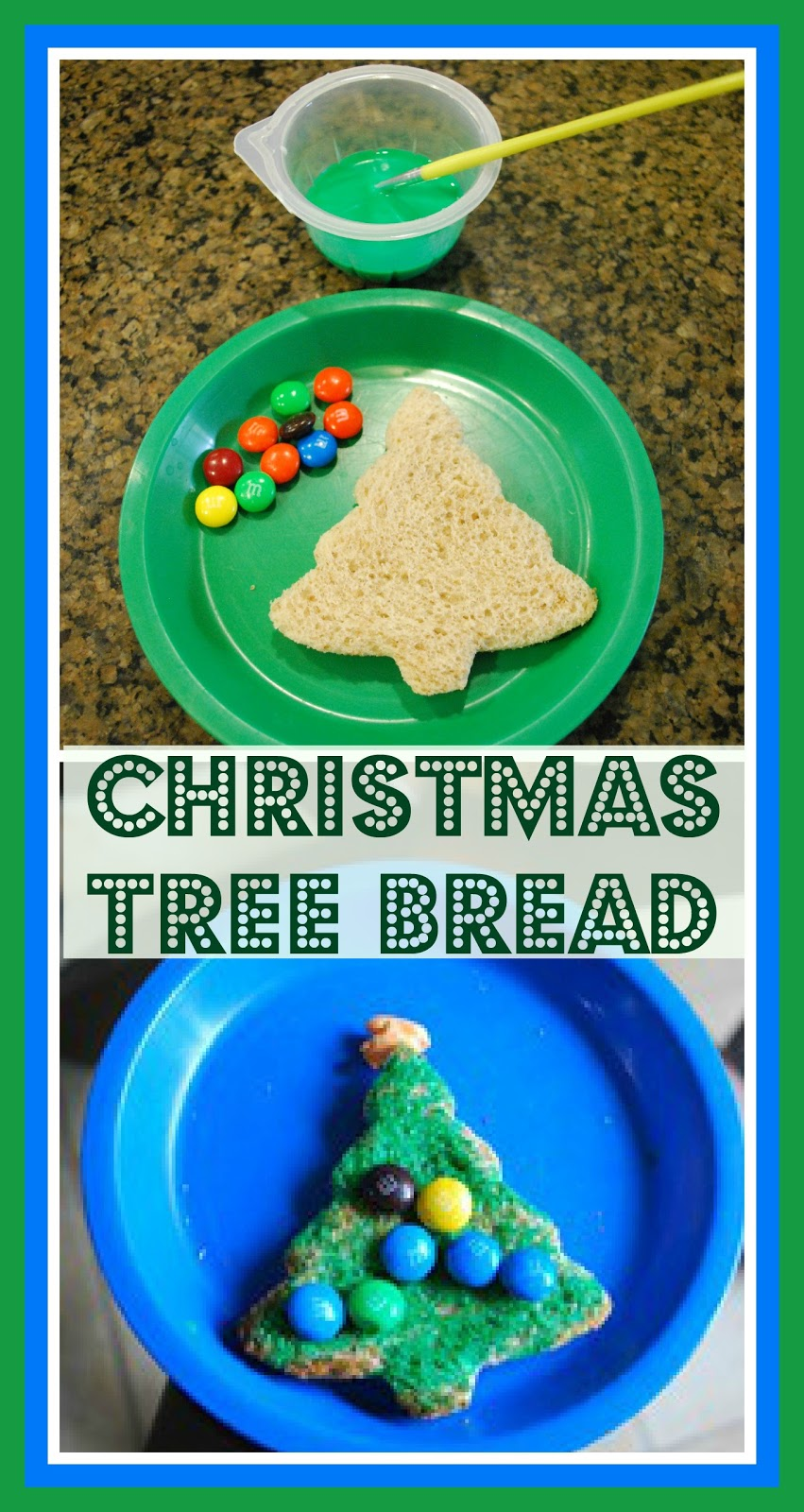 Food Fun Friday - Christmas Tree Bread   Mess For Less