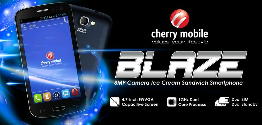 cherry mobile blaze announced image from cherry mobile fan page
