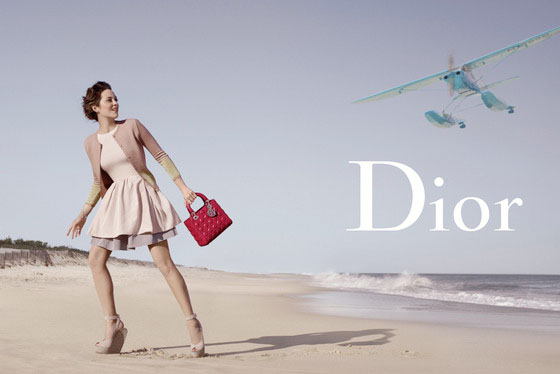 Marion Cotillard's Lady Dior Ad Hampton реклама dior lady hampton с марион котийяр фото 2012