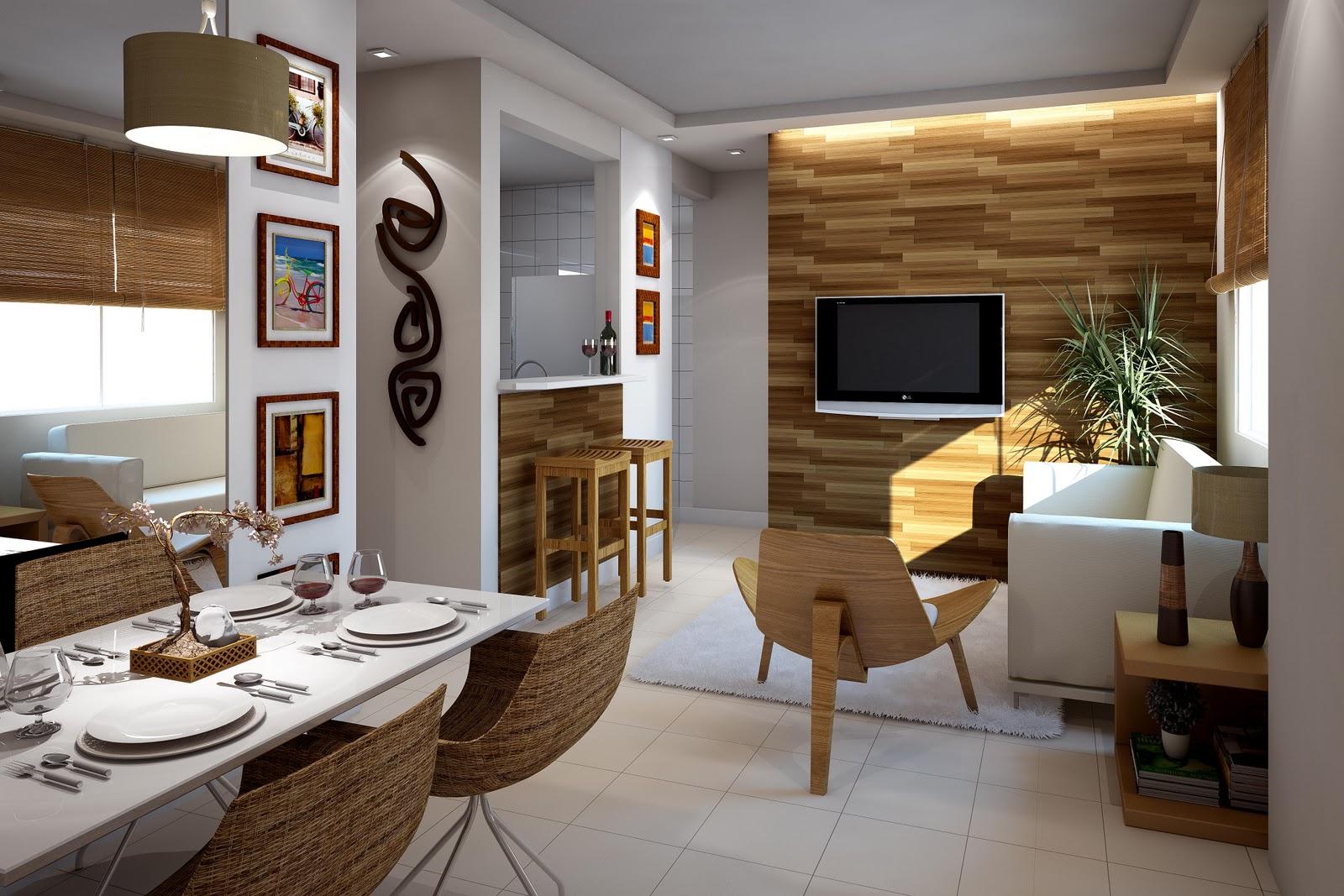 Sala E Cozinha Conjugadas Simples Tapetes Para Sala Jantar Pequena