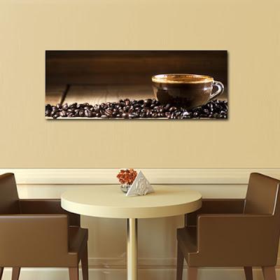Tablouri canvas cu cafea