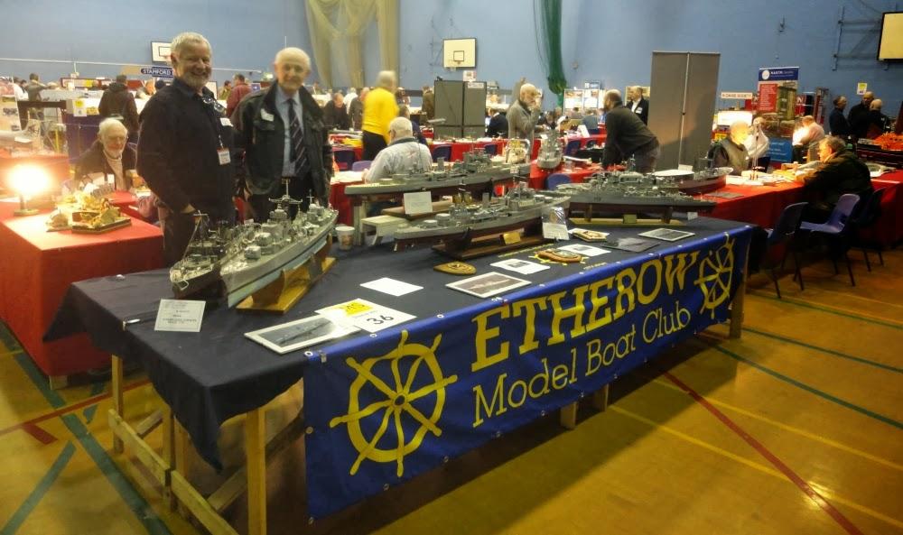 Etherow Model Boat club: Poynton TMS show 7th/8th December.2013