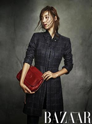 Han Ji Hye - Harper's Bazaar Magazine October Issue 2013