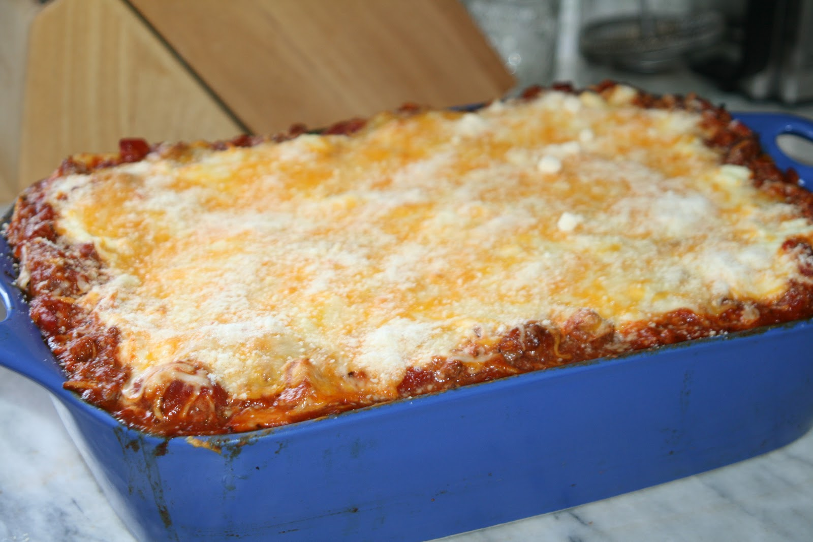 Simply Tennessee: Simply Three Meat Lasagna