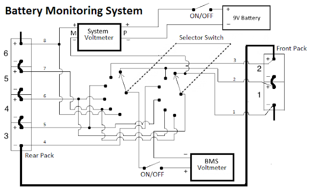 project  electric booger  battery monitoring system