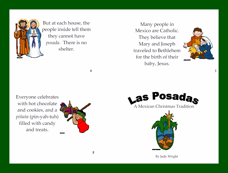 Las Posadas Crafts For Kids - Kidscrafts