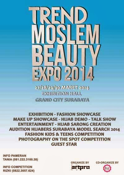 Trend Moslem Beauty Expo 2014