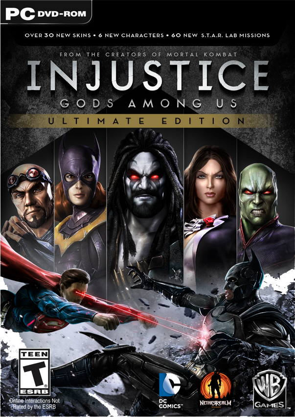 INJUSTICE GODS AMONG US ULTIMATE EDITION-BLACK BOX
