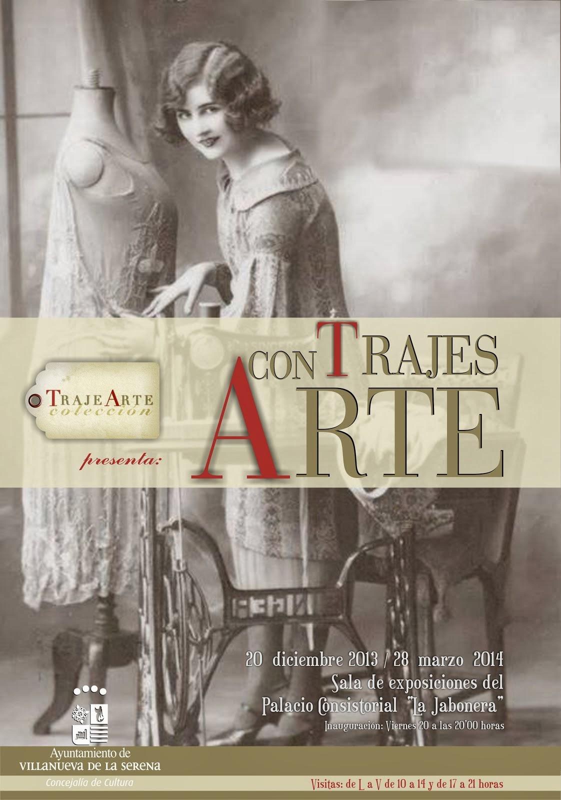 Exposición Trajes con Arte