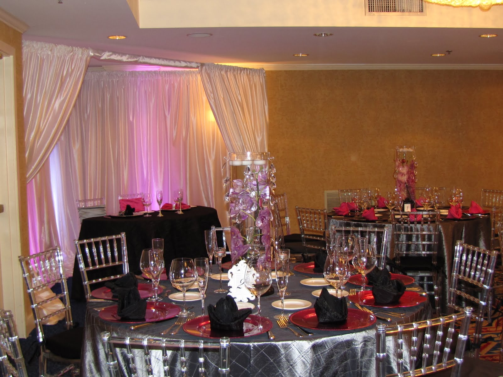 Party people event decorating company new years eve for Terrace party decoration