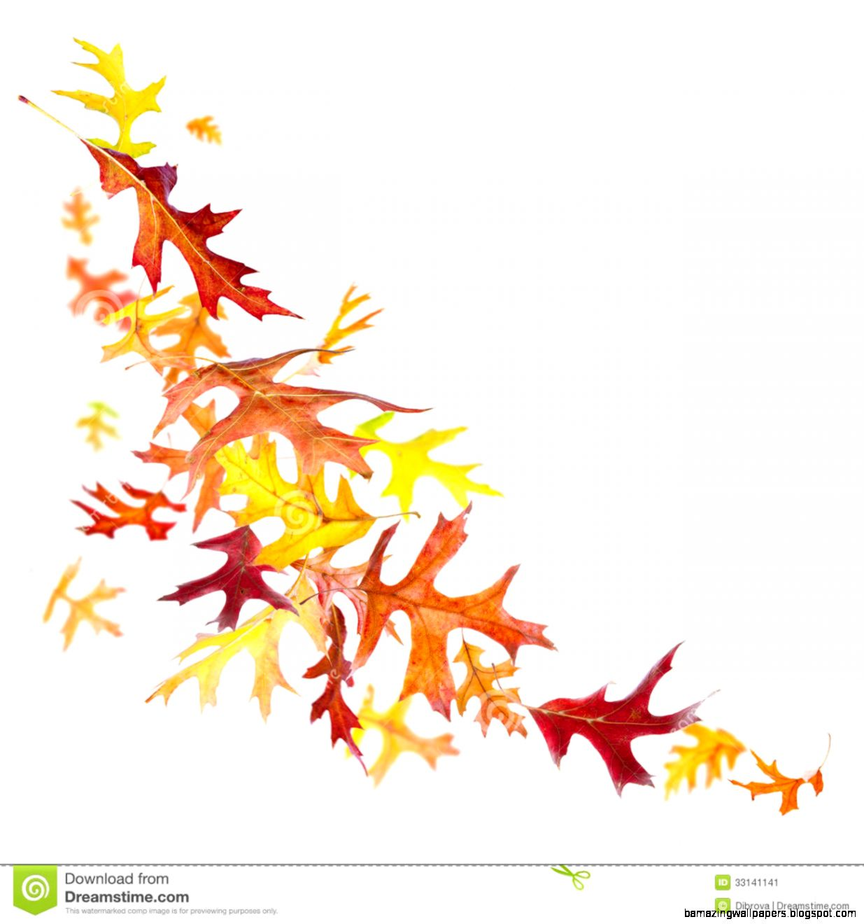 Fall Leaves Blowing Clipart   Clipart Kid
