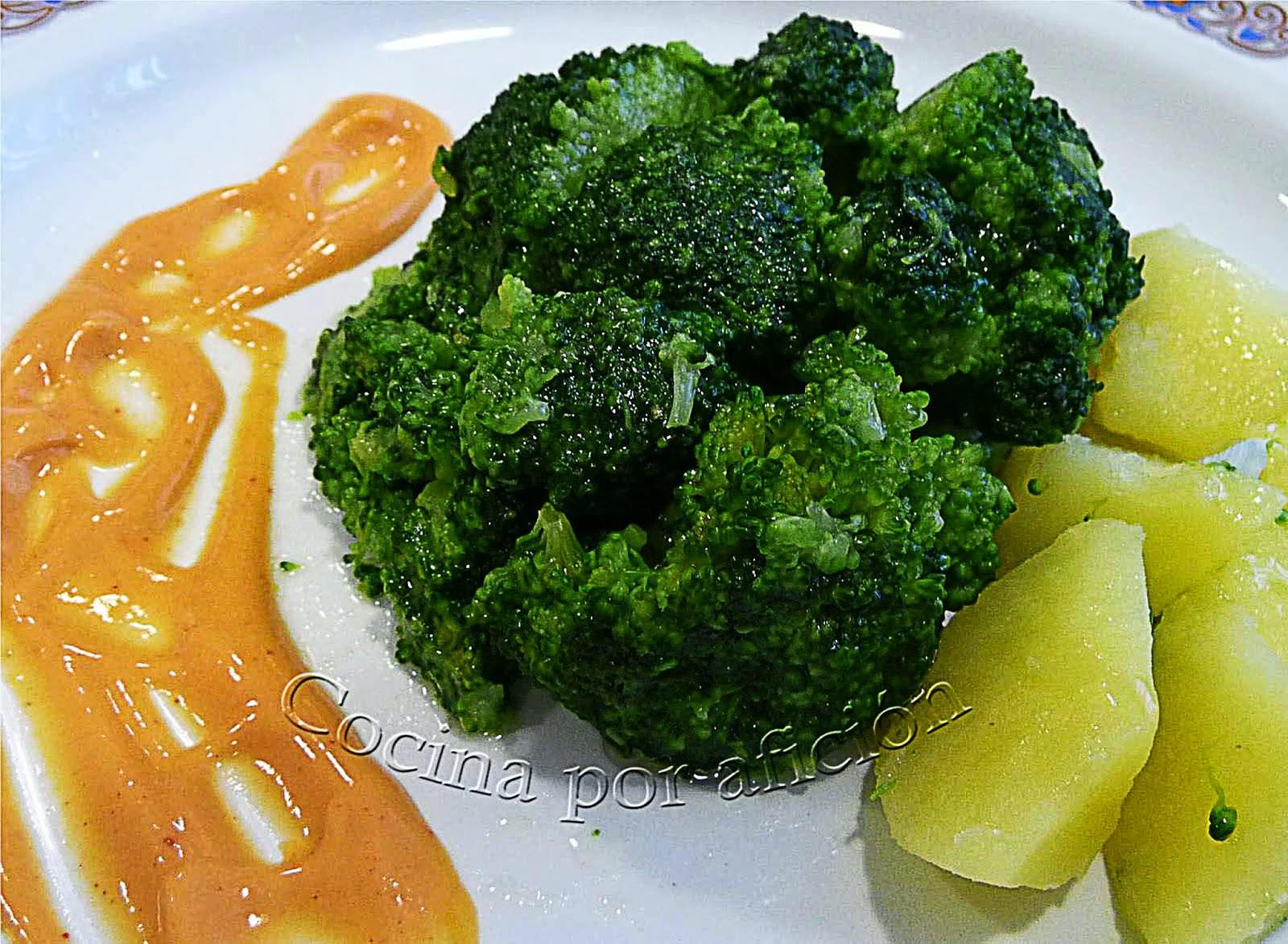 brócoli, salsa