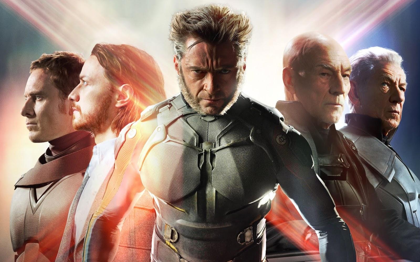 X-Men DOFP Hugh Jackman Michael Fassbender James McAvoy Patrick Stewart Ian McKellen