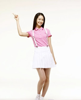 Im Yoona Korean Cute Girl Singer Sexy Mini Skirt 3