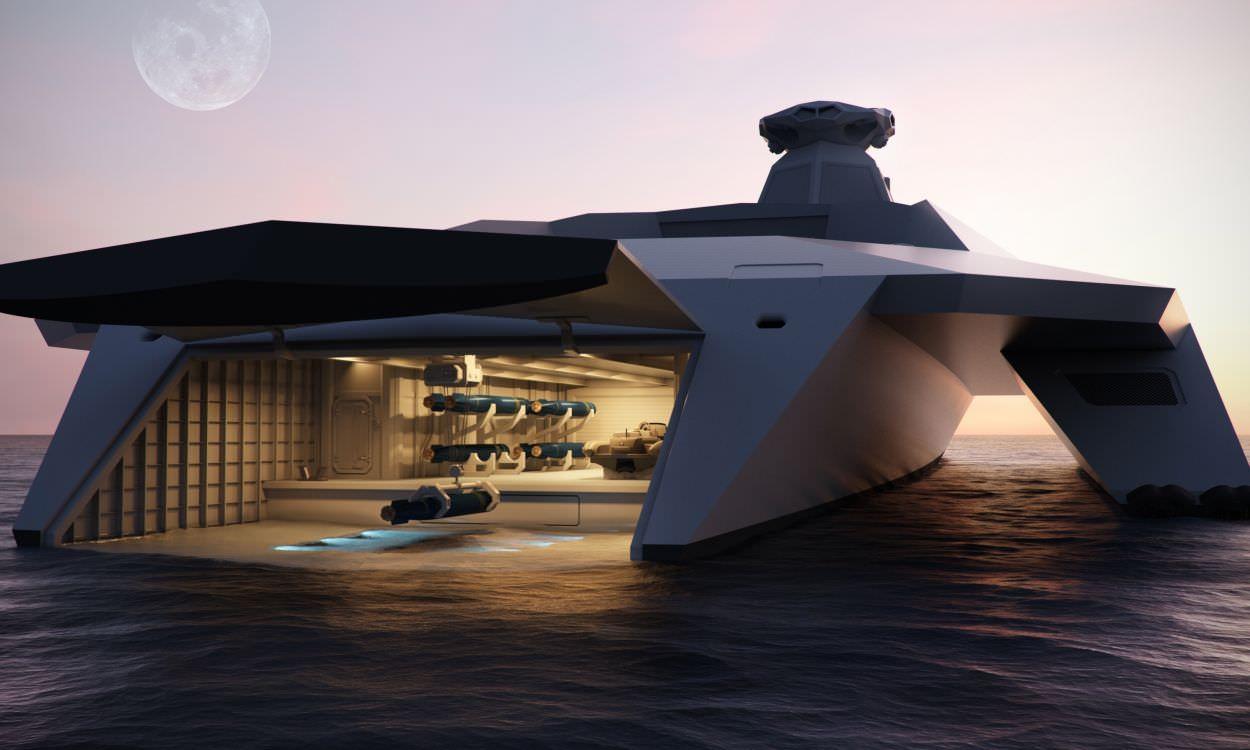 Tecnoneo el buque de guerra del futuro 39 dreadnought 2050 - La domotica como solucion de futuro ...