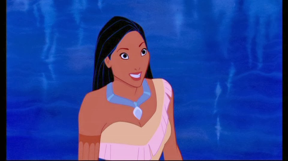 Pocahontas Disney film animatedfilmreviews.filminspector.com