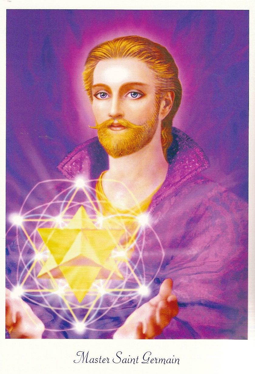 Soy luz en el camino la llama violeta y el maestro saint for La quincaillerie saint germain