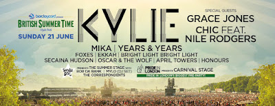 Kylie Minogue @ BST Hyde Park
