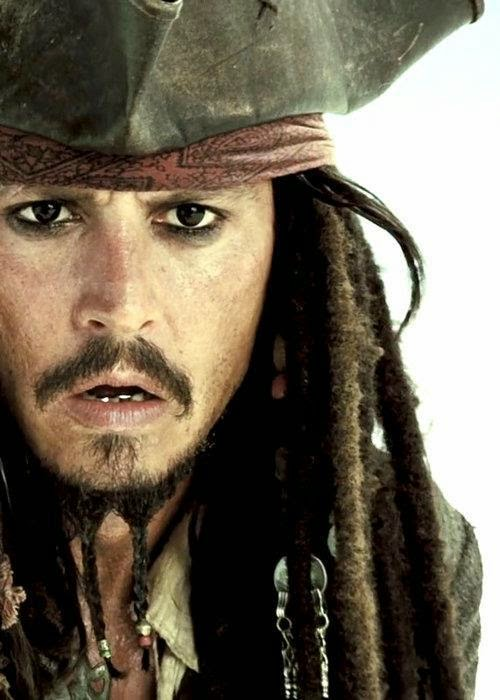 Jack Sparrow Johnny Depp Birdman