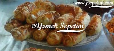 Mantarlı Sütlü Börek Tarifi
